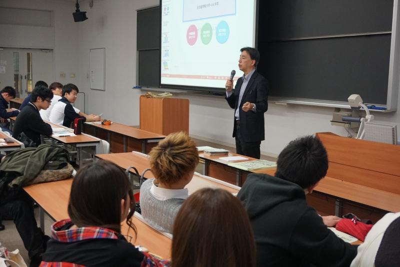 2017年度『地域商業まちづくり』春学期授業が開講