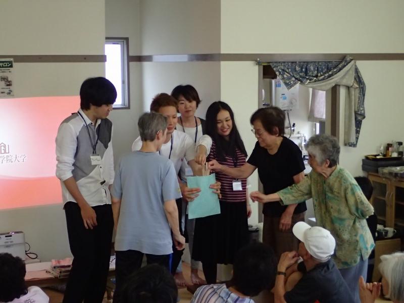 市営南熱田荘でオリジナルのサロン企画を開催