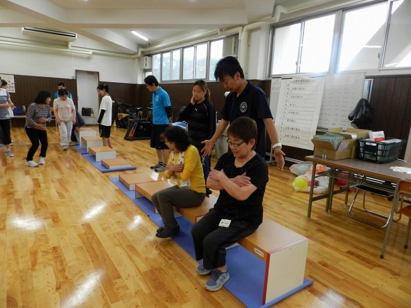 健康運動教室 in NGU 2017春開催中