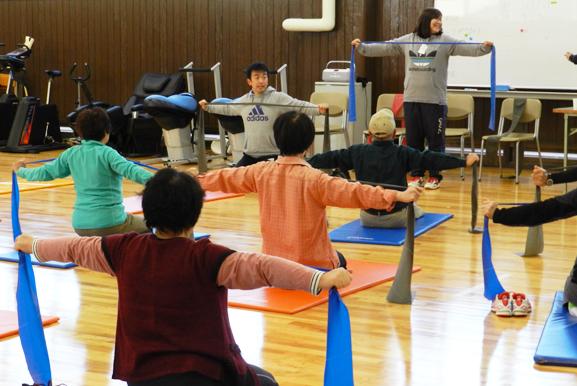 健康運動教室in NGU