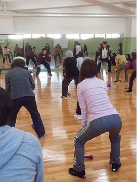 健康運動教室 in NGU 2014秋