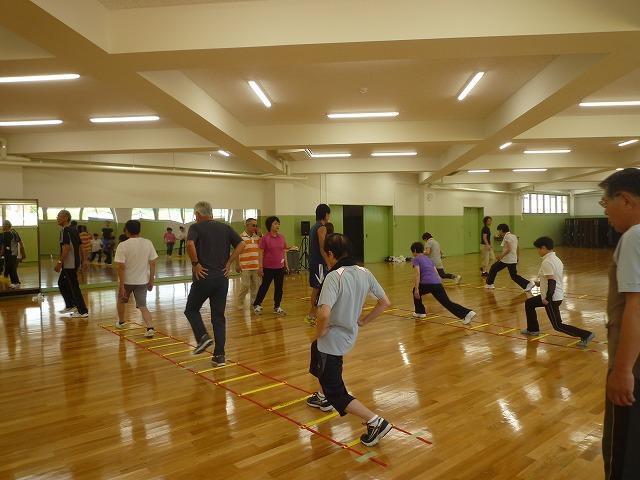 健康運動教室 in NGU 2014春