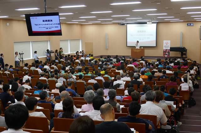 スペシャルオリンピックス日本ナショナルミーティングを本学で開催