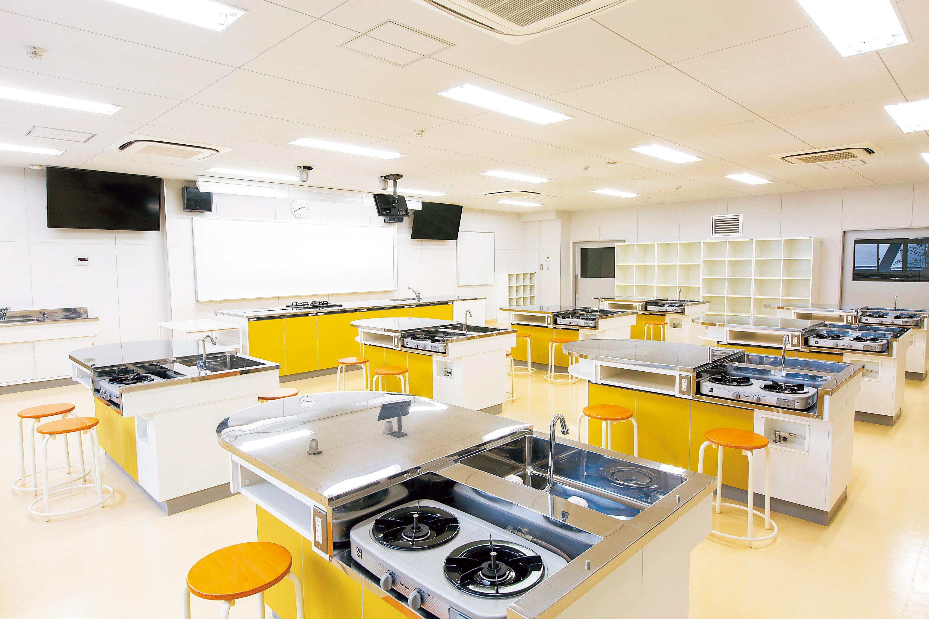 家庭科実習室1